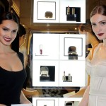 Lisalla Montenegro and Lovanni Pinnow at the Dolce & Gabbana opening
