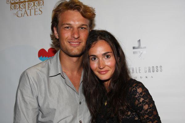 Doug Pickett with girlfriend....