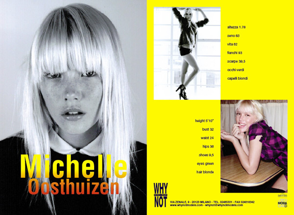 Michelle OOSTHUIZEN - the Fashion Spot