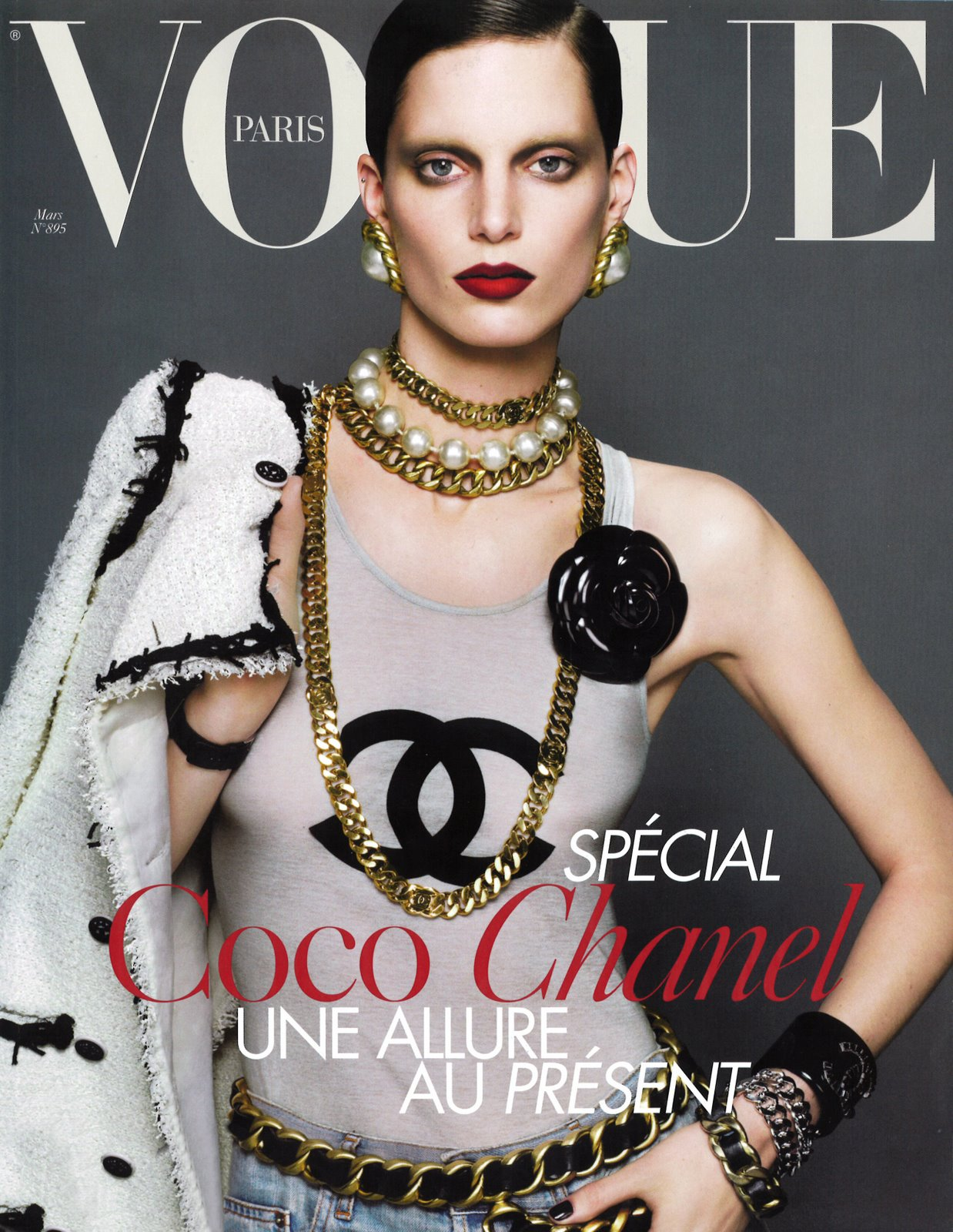 Vogue Paris March 2009  Ph  Mert Alas and Marcus PiggottVogue Models