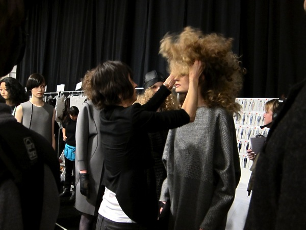 Amazing hair at Ports 1961 backstage