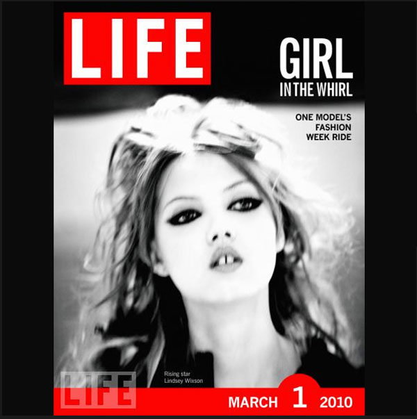 Lindsey Wixson in Life