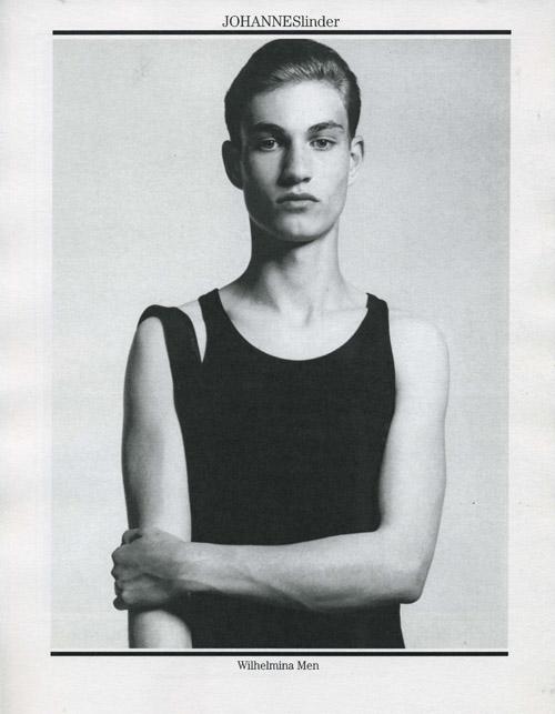 Kevin Nee Model Johannes