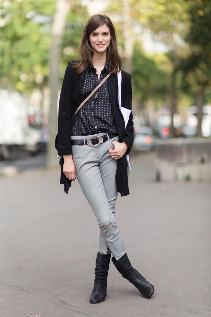 Streetstyle n 5 s s 2014 Celine fashion street style