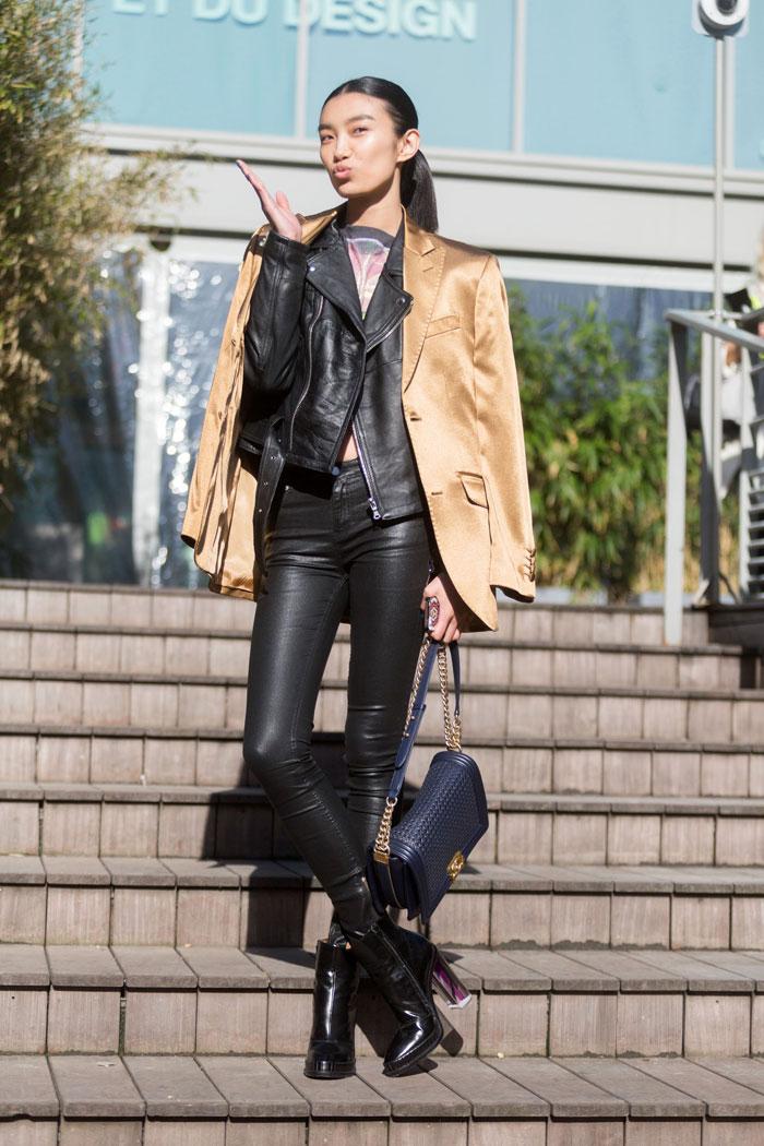 Leather leggins chica en calzas de cuero - 2 part 9