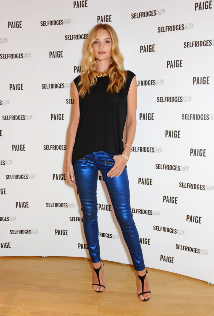 Paige Shop Launch Hosted By Rosie Huntington Whiteley