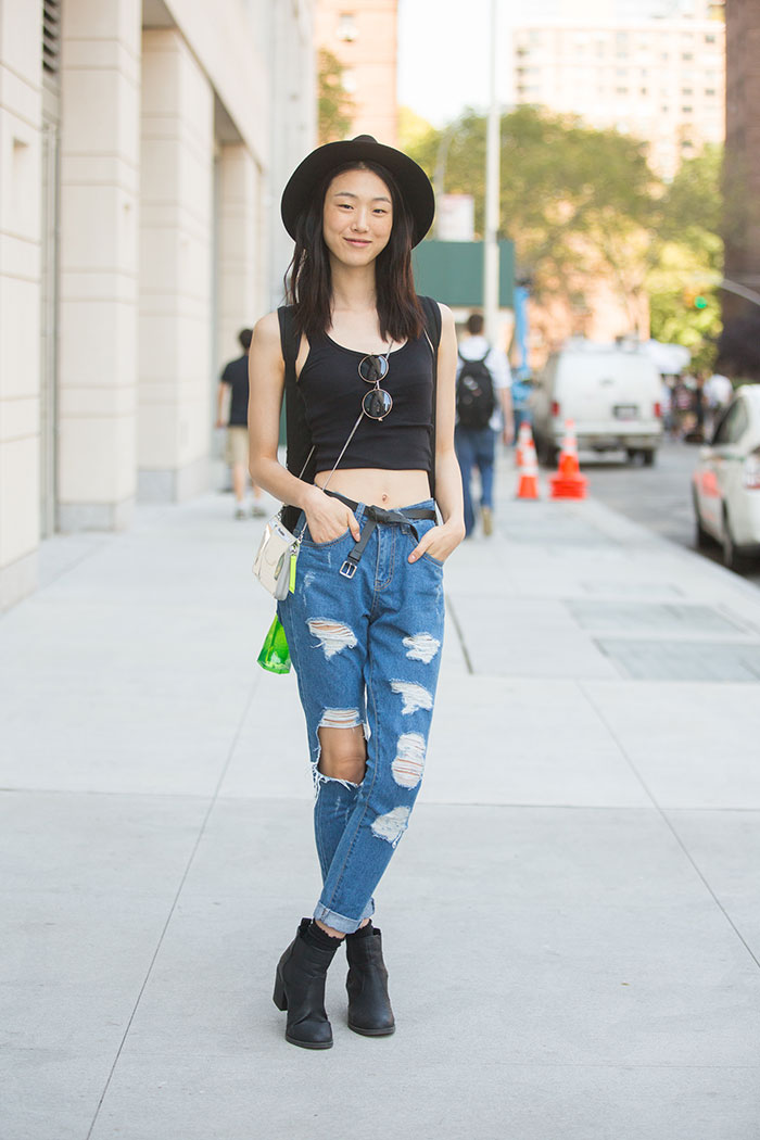 On The Street Nyfw S S 15 Day 1 Of The Minute