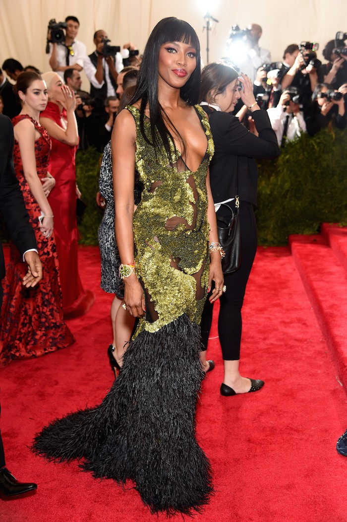 """NEW YORK, NY - MAY 04:  Naomi Campbell attends the """"China: Through The Looking Glass"""" Costume Institute Benefit Gala at the Metropolitan Museum of Art on May 4, 2015 in New York City.  (Photo by Dimitrios Kambouris/Getty Images)"""