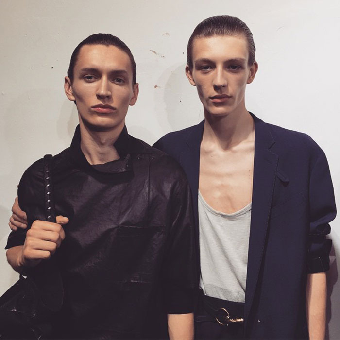 Arnis-Cielava-and-Finnlay-Davis-at-Lanvin