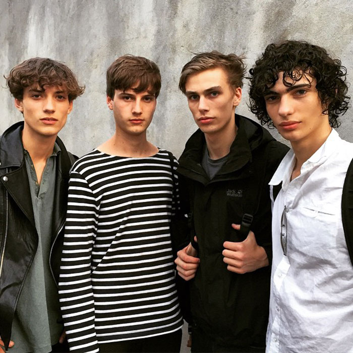 Serge-Rigvava,-Ted-Le-Sueur,-Marc-Schulze,-and-Piero-Mendez-after-Raf-Simons