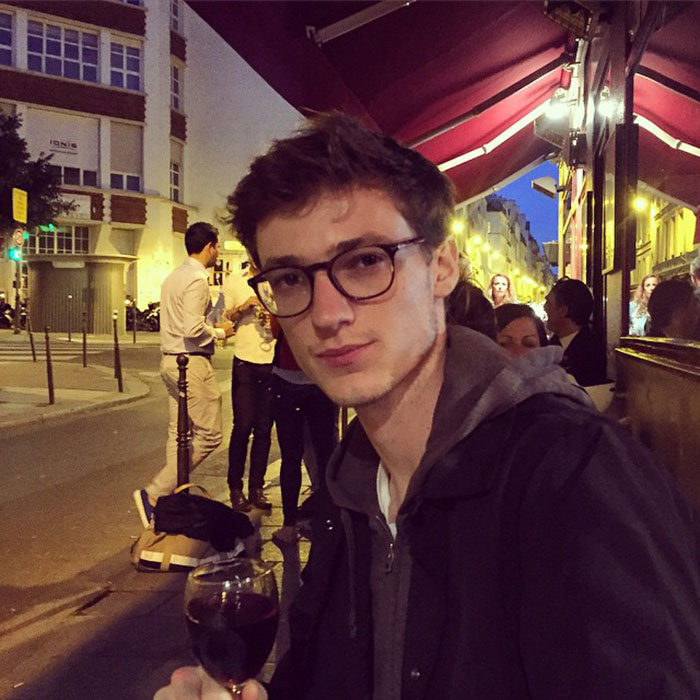 Tommaso-de-Benedictis-at-La-Perle-the-night-before-Paris-Fashion-Week