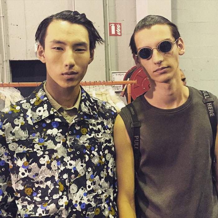 Zhao-Qinghe-and-Anthony-Gilardot-at-Kenzo