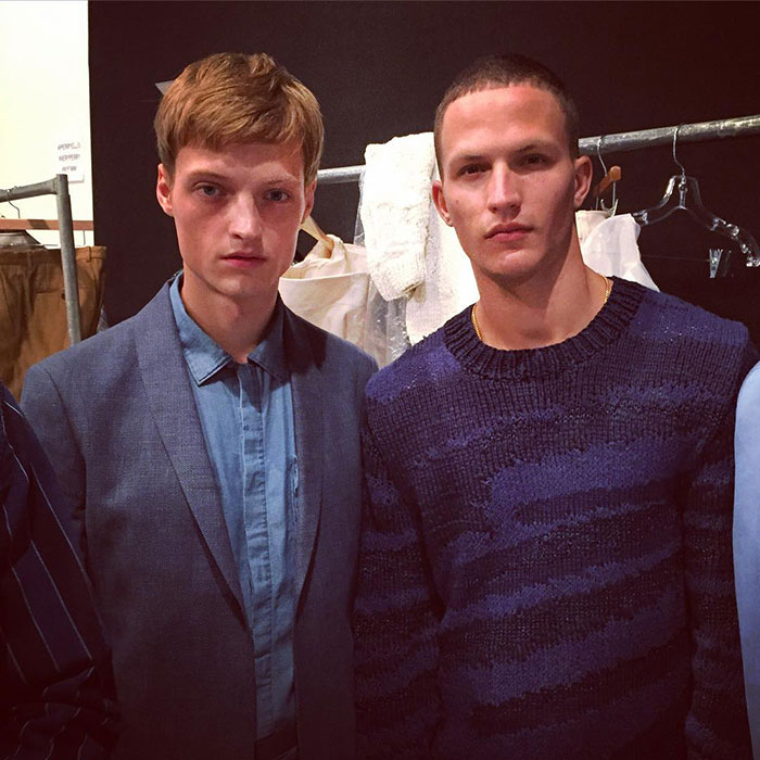 Dane-Bell-and-Nathaniel-Visser-at-Perry-Ellis