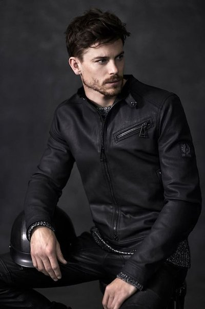 Jeremy Young - Ph: Joel Griffith for Belstaff Pre Fall 2014