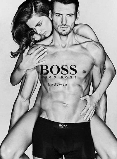 Alex Lundqvist - Photo: Christian Anwander for BOSS Black Bodywear S/S 13