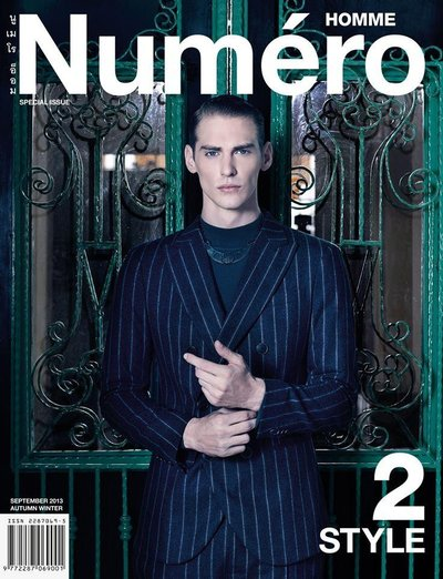 Jeremy Dufour - Photo: Kit Bencharongkul for Numero Homme Thailand F/W 13