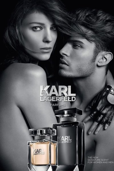 Baptiste Giabiconi - Ph: Karl Lagerfeld for Karl Lagerfeld Parfums 2014