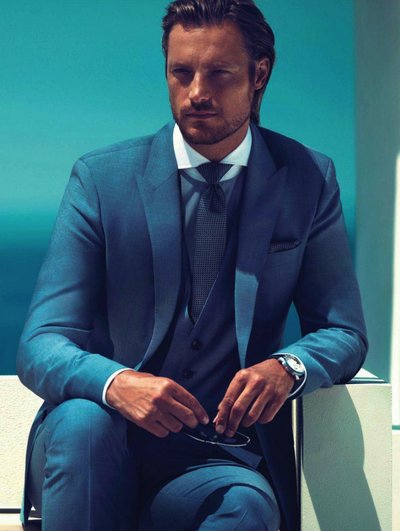 Gabriel Aubry - Photo: Michelangelo di Battista for Hugo Boss S/S 13