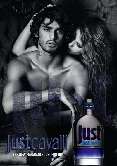 Marlon Teixeira - Ph: Mario Sorrenti for Just Cavalli Fragrance 2013
