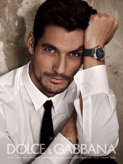 David Gandy - Ph: Mariano Vivanco for Dolce Gabbana Watches F/W 12