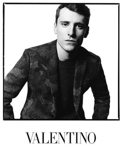 George Barnett - Ph: David Bailey for Valentino F/W 14