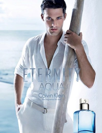 Ben Hill - Ph: Mario Sorrenti for Calvin Klein Eternity Aqua Fragrance 2013