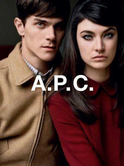 Vincent LaCrocq - Ph: Alasdair McClellan for A.P.C F/W 12