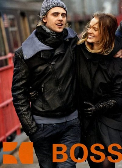 Boyd Holbrook - Ph: for Hugo Boss Orange F/W 10