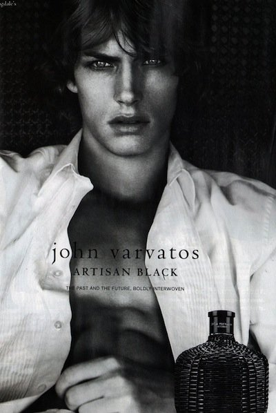 Andrew Smith - Ph: for John Varvatos Fragrance S/S 11