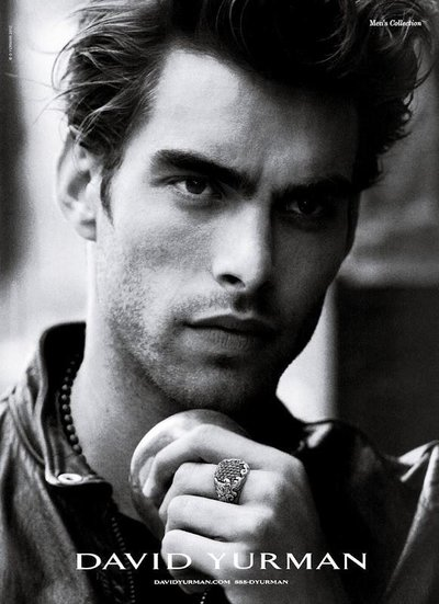 Jon Kortajarena - Ph: Peter Lindbergh for David Yurman S/S 12