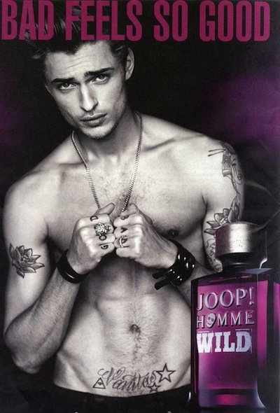 Harvey Newton-Haydon - Ph: Matthew Brookes for JOOP Homme Wild Fragrance F/W 12
