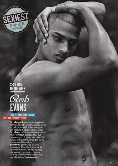 Rob Evans - Ph: for People Magazine Sexiest Man Alive- October 2012
