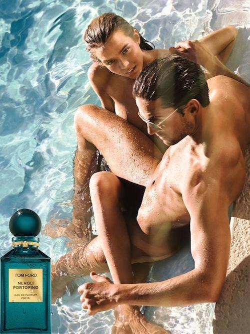 Jamie Jewitt - Ph: Jeff Burton for Tom Ford Neroli Portofino Fragrance 2014