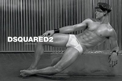 Ryan Bertroche - Ph: Steven Klein for Dsquared2 Underwear 2014