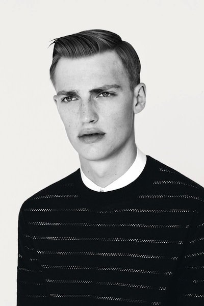 Victor Nylander - Ph: Bruno Staub for Dior Homme S/S 13 Lookbook
