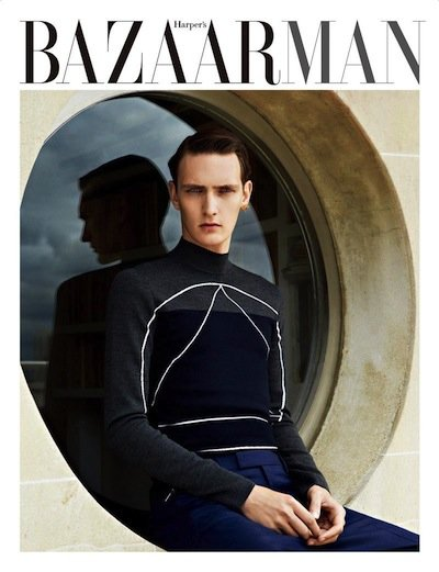 Yannick Abrath - Ph: Mark Pillai for Harper's Bazaar Man Korea September 2013