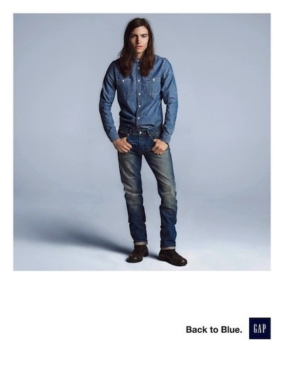 Ian Mellencamp - Ph:Inez Van Lamsweerde and Vinoodh Matadin for Gap F/W 13