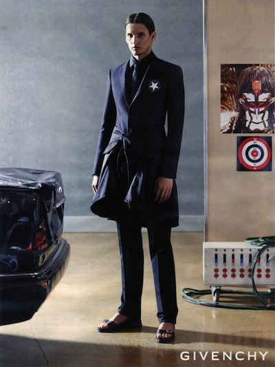 Dominik Bauer - Ph: Mert Alas and Marcus Piggot for Givenchy S/S 14
