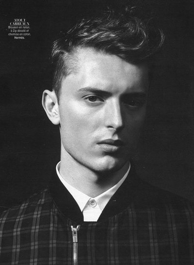 Max Rendell - Ph: Laurent Humbert for Madame Figaro