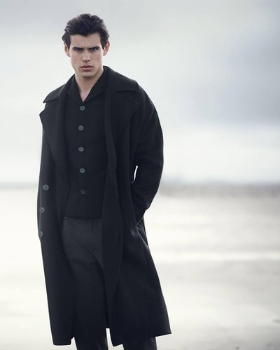 Matt Trethe - Ph: Boo George for Emporio Armani F/W 14