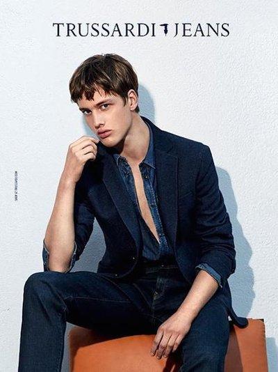 Sylvester Ulv Henriksen - Ph: Collier Schorr for Trussardi Jeans F/W 14