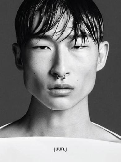Sang Woo Kim - Ph: Josh Olin for Juun J Spring/Summer 2015