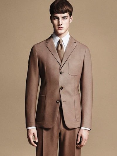 James Smith - Ph: David Sims for Z Zegna F/W 11