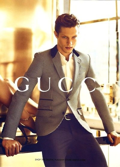 Greg Nawrat - Ph: Mert Alas and Marcus Piggot for Gucci S/S 12