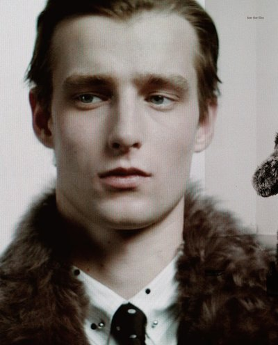 Laurie Harding - Ph: Willy Vanderperre for Dior Homme Fall 2014