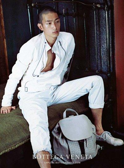 Sung Jin Park - Ph: Nobuyoshi Araki S/S 15