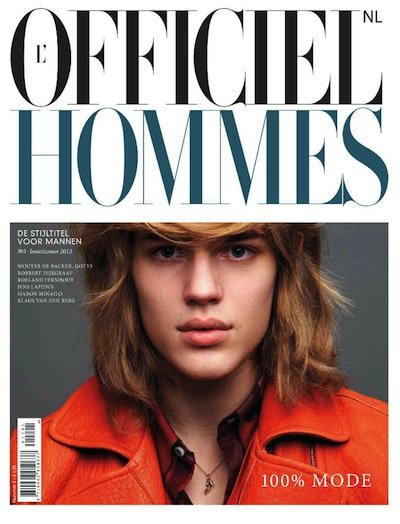 Ton Heukels - Ph: Blommers & Schum for L'Officiel Hommes Netherlands S/S 12 Cover