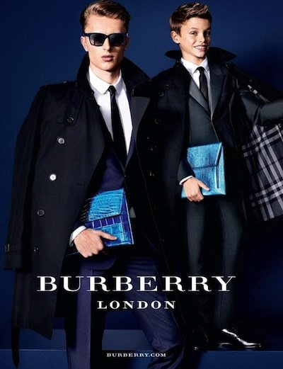 Max Rendell - Ph: Mario Testino for Burberry S/S 13