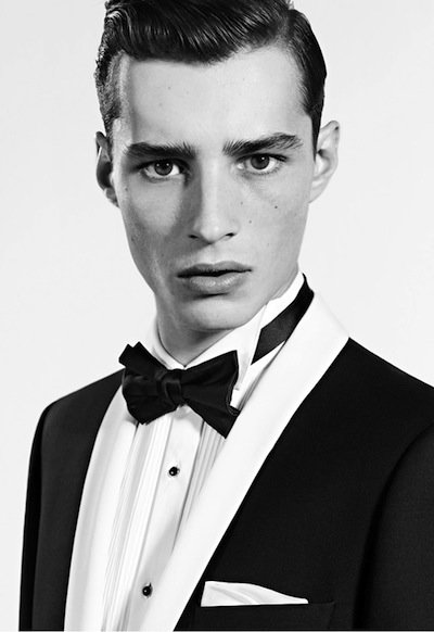 Adrien Sahores - PH: Karim Sadli for De Fursac S/S 12