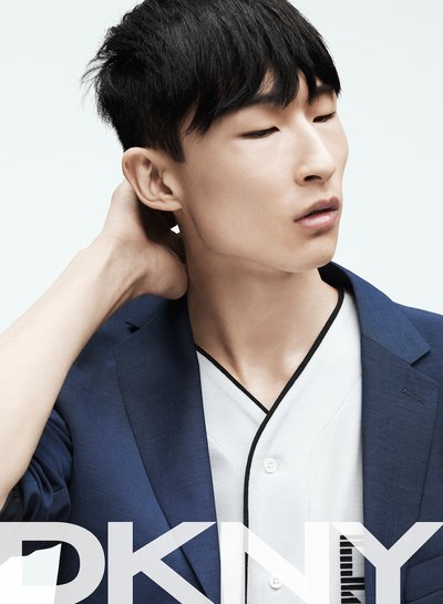 Sang Woo Kim - Ph: Gregory Harris for DKNY Spring 2015